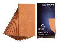 Aspect is a decorative metal tile that provides the
