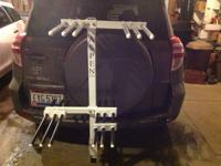 I am selling this Aspen Bicycle Rack / Ski Rack. I am