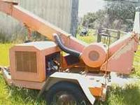 1988 chipper asplund wisper chipper powered by ford 6