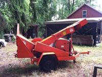 2000 Asplunh-Altec Chipper 6 cylinder Ford Engine with