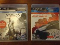 I have for sale:  Assassin's Creed 3 for PS3: $20 Need