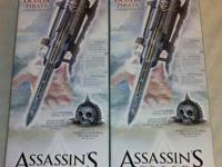 Two NEW Replica Assassins Creed IV Black Flag Pirate