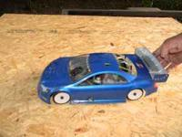 Associated Nitro on-road R/C remote control car. 2