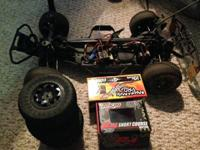 This is the Team Associated SC10 4x4 truck. What it