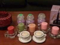 Assorted candles .50 cents each. (scented)