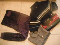 Cloth is excellent condition barely worn,some new.Jeans