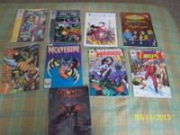 I have an assorted collection of comics I'm selling