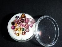 Lot of approximately (22) assorted gemstones, includes