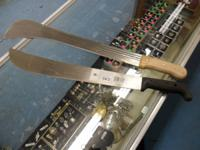 We have some diverse machetes available for sale. Price
