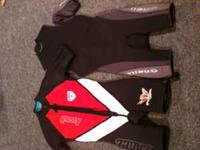 Selling an assortment of Men's wetsuits - all in