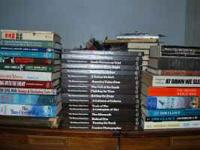 Up for sale are 75+ military, war, & other books in