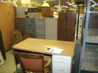 Assorted Office cabinets, desks and shelves Please call