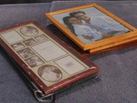 I have an assortment of new and used picture frames