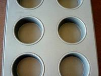 Image No. 1 - Never utilized huge hole muffin pan -