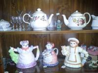 We have several tea pots available!!  Saddler, The
