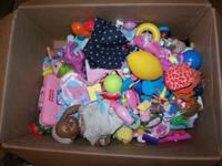 Large box of mostly girl toys, great for ages 1-6.