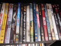 I am offering various DVDs. Numerous different titles