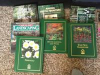 lot of assorted gardening books - include mostly