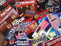 ASSORTED GUITAR BOOKS EACH Book/CD $6.00 unless