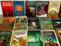 60 COOL sci-fi publications, many from the 1970's. ALL