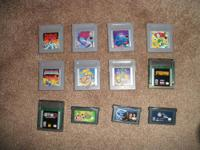 There are 12 Nintendo Gameboy/Gameboy Color/Gameboy