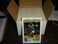 These NBA cards are in mint condition.   They are from