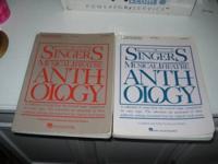 Assortment of vocal anthologies for High voice Price