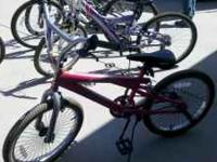 I have 2 ladies bikes and 2 trick bikes for sale. $50