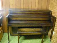 Astin-Weight Upright Grand Piano, $150 OBO I can't find