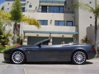This 2006 Aston Martin DB9 2dr Volante Convertible . It