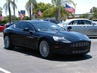This 2011 Aston Martin Rapide 4dr Sedan features a 5.9L