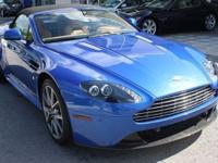 This 2011 Aston Martin Vantage S S Convertible features