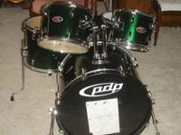 These drums are PDP Z5 series and are only a year and a