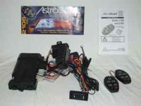 This is a ASTRO START 2106 XR remote car starter with