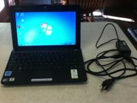Asus Eee PC 1005HA, comes set up with Windows 7 and