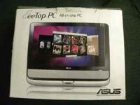 ASUS Eee Top 20-Inch Black All-in-One PC Slightly used