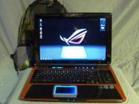 Up for sale is my 2 year old ASUS G Series G50V-X1