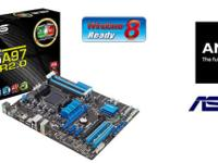 Asus Motherboard with i/o shield, sata cables, usb