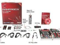 I have a brand new ASUS Rampage IV Extreme Motherboard