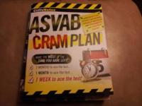 ASVAB Cram Plan book by CliffsNotes. Brand new .