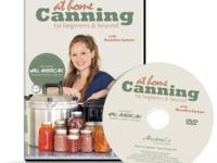 At Home Canning For Beginners and Beyond: DVD Home