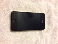 I have an AT&T carrier Black 16gb iPhone 4S for sale.