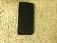 Hello I have a good condition iPhone 5 16GB Black for