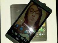 At&t HTC One 32gig in MINT condition, practically brand