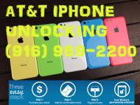 WEST SAC //AT&T IPHONE 4 4S 5 5C 5S FACTORY UNLOCK