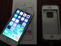 I have a white/silver at & t iPhone 5s 16gb with white