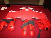 Child Medium ATA Sparring Gear, litly used. Call