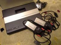 ATARI 7800 WITH GAMES AVAILABLE ...ADD WILL BE REMOVED