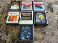 This is an awesome set of old school atari video games