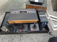 I have three complete Atari gaming systems with games.